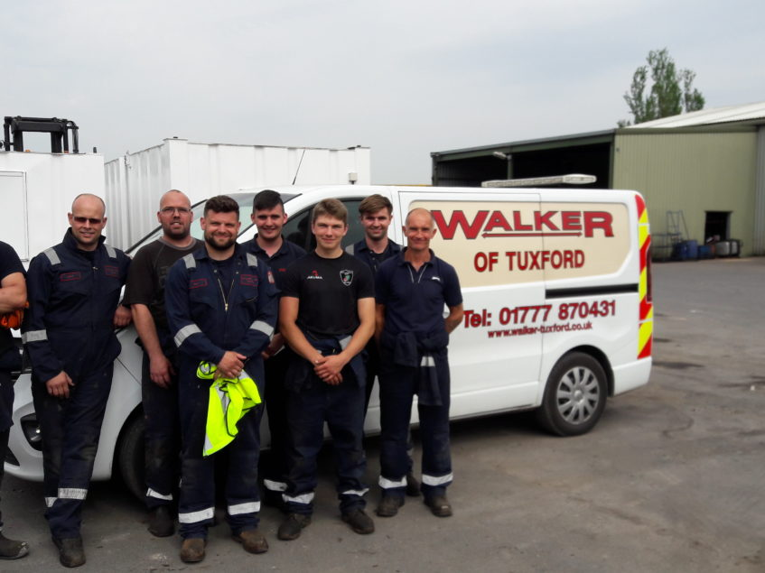 REACT Roadside Recovery Training – Walker of Tuxford